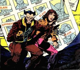 Future Logan and Future Kitty Pryde from Days of Future Past